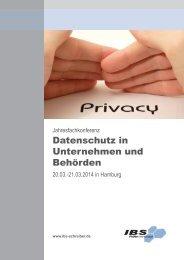 Datenschutz in Unternehmen und Behörden - Beck Stellenmarkt
