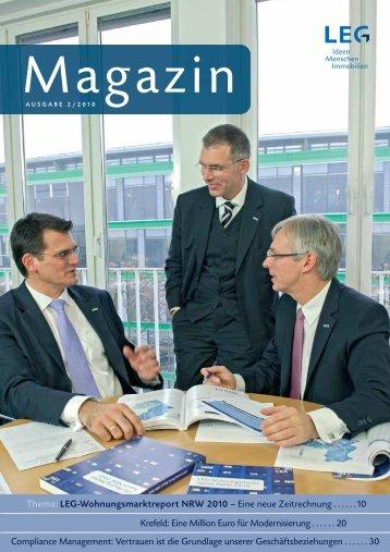 Thema: LEG-Wohnungsmarktreport NRW 2010 – Eine neue ...