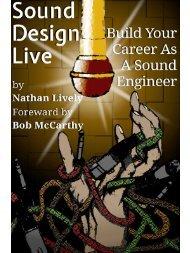 Sound Design Live: SAMPLE CHAPTERS
