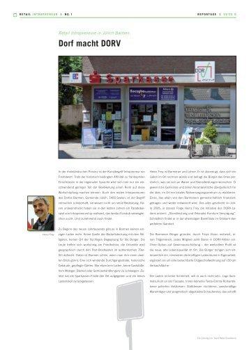 Dorf macht DORV - Team Retail Excellence