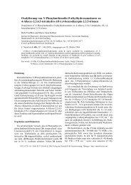 Oxalylierung von N-Phenylanthranilo-O-alkylhydroxamsäuren zu 4 ...