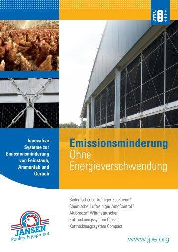 Emissionsminderung - Jansen Poultry Equipment