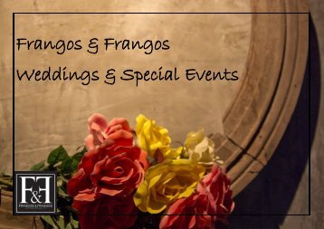 Frangos & Frangos Weddings & Special Events