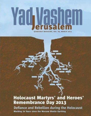 to download magazine - Yad Vashem
