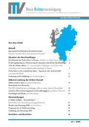 HES-2009-04 Info - Neue Richtervereinigung eV