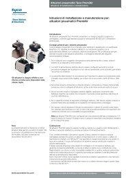 attuatori pneumatici PremiAir - Pentair