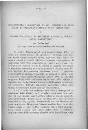 Orvos-Természettudományi Értesítő II. Természettudományi Szak - 7 ...