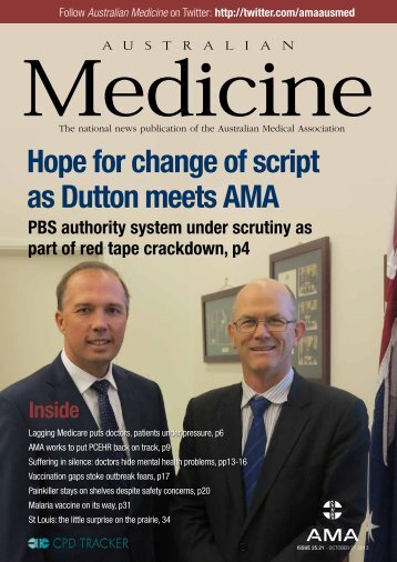 21 October 2013 - Australian Medical Association