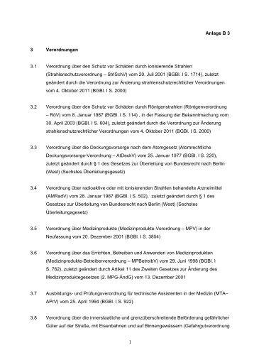 B 3 - Verwaltungsvorschriften im Internet