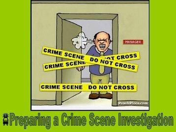 Crime Scene (Power Point)