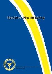 Nutrition - Mer än näring - Svenska Bilsportförbundet