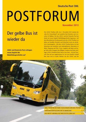 November 2013 - Deutsche Post DHL