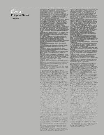 244 My World Philippe Starck