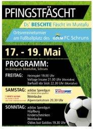 Pfingstturnier 1999 - Golm FC Schruns