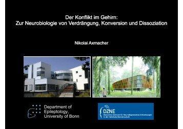 Der Konflikt im Gehirn: Zur Neurobiologie von Verdrängung ...