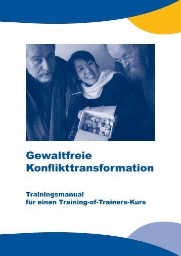 Gewaltfreie Konflikttransformation - Institut für Systemische Beratung