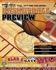 BASKETBALL PREVIEW 2012 - 2013 WNC HigH sCHool - Iwanna