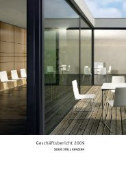 Geschäftsbericht 2009 - Sedus