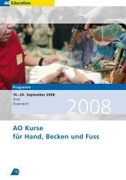 AO Kurse für Hand, Becken und Fuss - Österreichische Gesellschaft ...