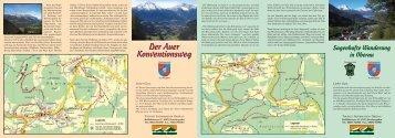 sagenhafte Wanderung - Berchtesgaden / Oberau