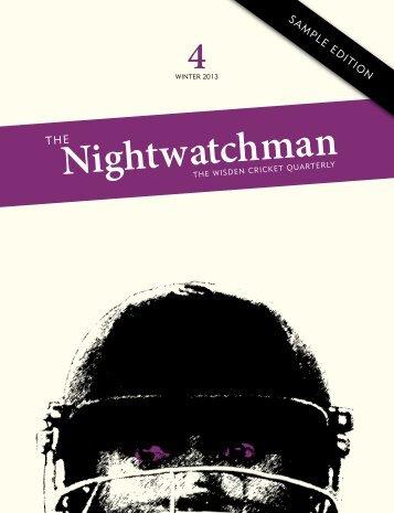 pdf format - The Nightwatchman