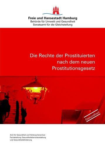 Die Rechte der Prostituierten nach dem neuen ... - Hamburg
