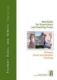 Standards for Supervisors and Teaching Posts Primary Rural and ...