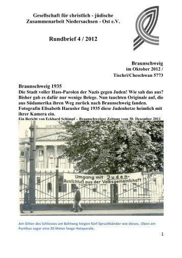 Rundbrief 4-12 - Gesellschaft für christlich-jüdische ...