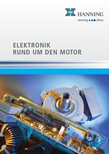 Prospekt Elektronik rund um den Motor - Hanning Elektro-Werke ...