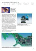 Prospekt Elektronik rund um den Motor - Hanning Elektro-Werke ... - Page 4