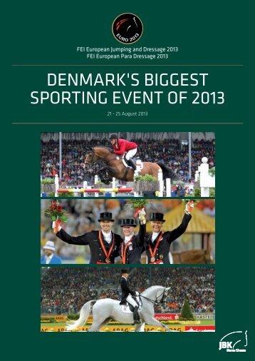 Brochure - ECCO FEI European Championships