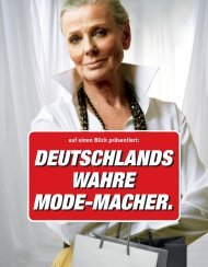 Mode-Die Macher der Nation