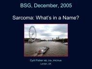 Presentation - Bsgconference.org.uk