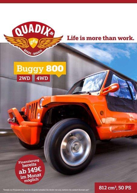 Buggy 800 - Quadix