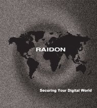 2013 RAIDON Product Brochure Download...(click here)
