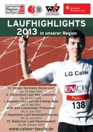 Laufheft 0313.indd - Leichtathletik Region Stuttgart