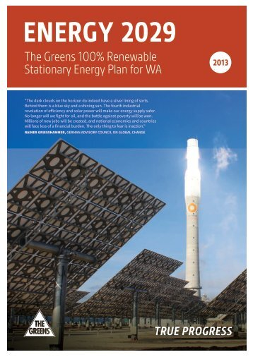 download the greens 2029 report - the Greens (WA)
