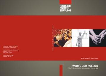 Werte und Politik - FRIEDRICH EBERT STIFTUNG Office in Skopje