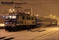 Issue 77x | February 2013 | ISSN 1756 - 5030 - Railtalk