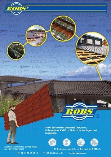 Download der PDF-Broschüre - ROBS SA