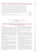 Neue Zeitschrift für Strafrecht - Anwalt Sindelfingen - Seite 2