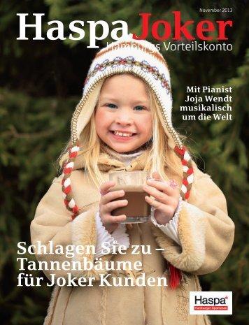 HaspaJoker - Haspa Magazin