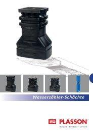 Wasserzähler-Schächte - Plasson