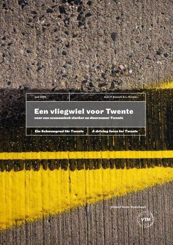 Een vliegwiel voor Twente - Gideon Consult