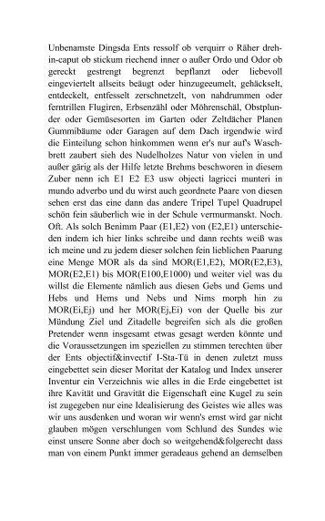 Kategorien, Funktoren, Hand an sich legen - bodolampe.de