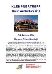 KLEMPNERTREFF - Fachverband Sanitär Heizung Klima Baden ...