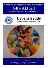 GBS Aktuell Lebensfreude - GBS Initiative e.V.
