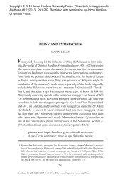 pliny and symmachus - Edinburgh Research Explorer - University of ...