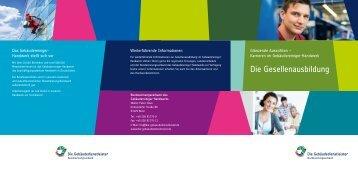 Folder Gesellenausbildung.pdf - Bundesinnungsverband des ...