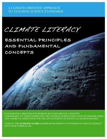 climate literacy - Federation of Earth Science Information Partners